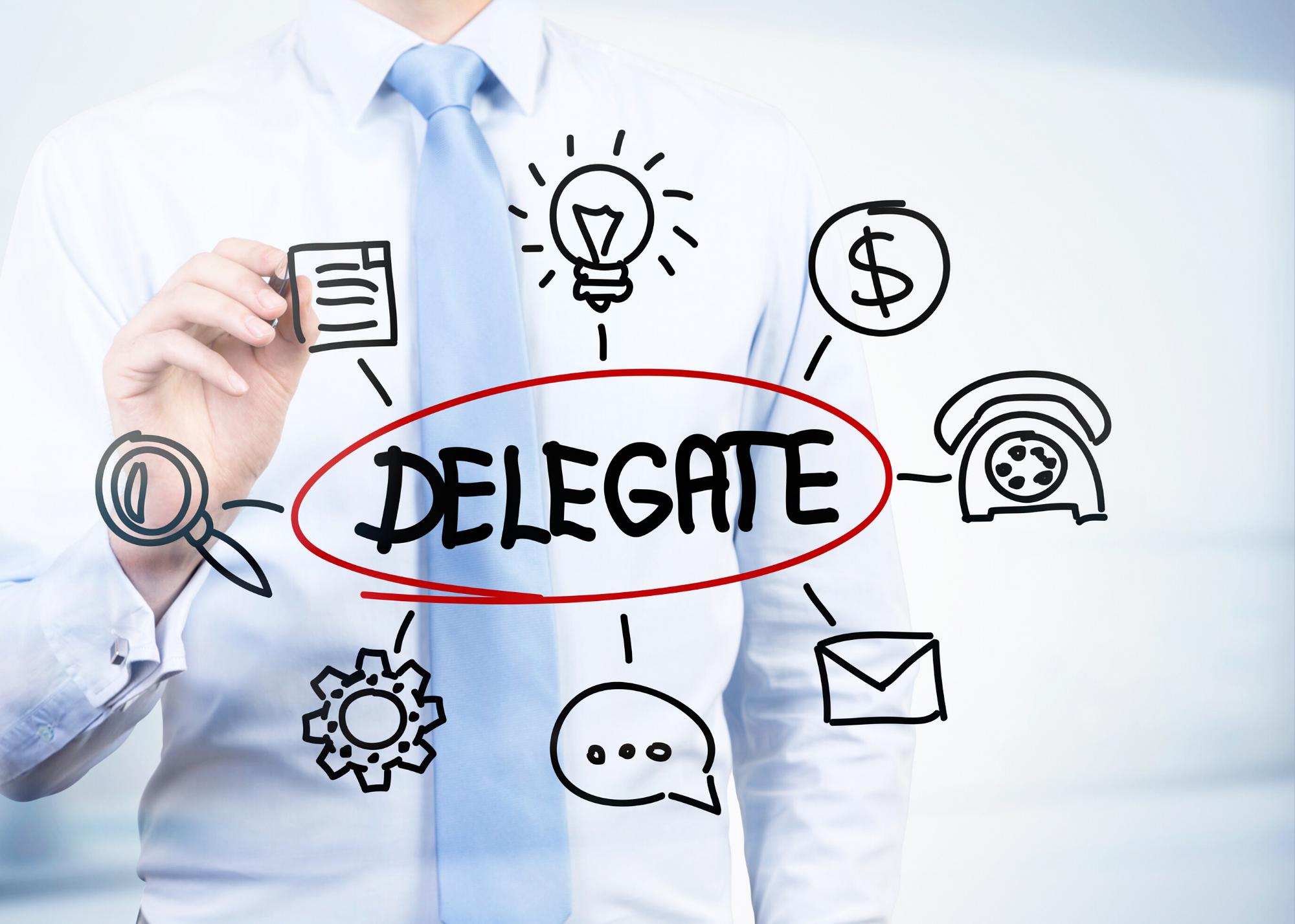 Delegate - task examples