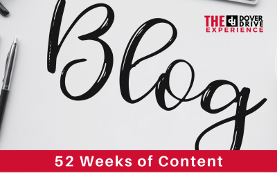 52 Weeks of Blog Content Ideas