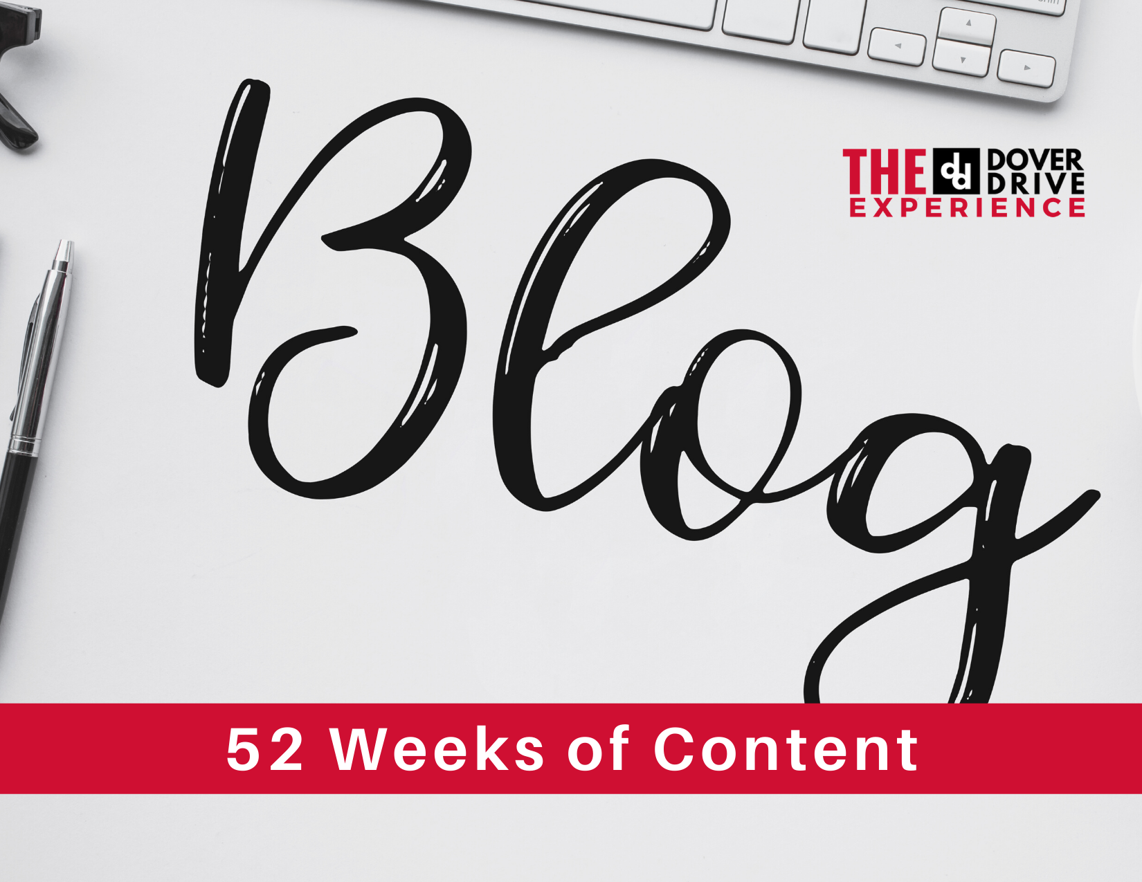 52 weeks of blog content